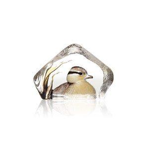 Duckling glass object by Mats Jonasson , Maleras