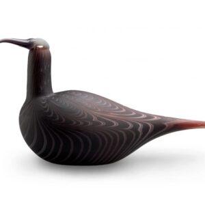 Toikka glass bird Curlew, handmade and designed by Oiva Toikka made in Finland in Iittala